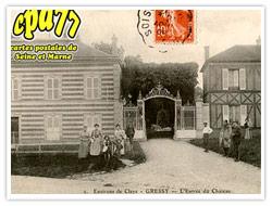 Carte postale - Entrée de Maurin