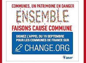 Appel du 19 septembre pour les communes de France