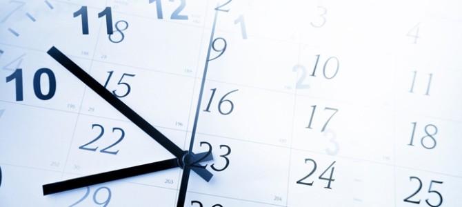 Horaires d'ouvertures pendant les vacances