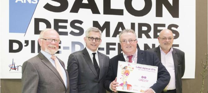 Label 2015 des Villes et Villages Fleuris : seconde fleur régionale
