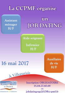 Affiche Job Dating SAP 05_2017_V2